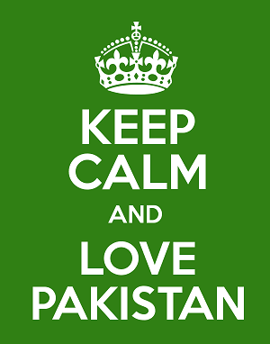 keep calm and love Pakistan