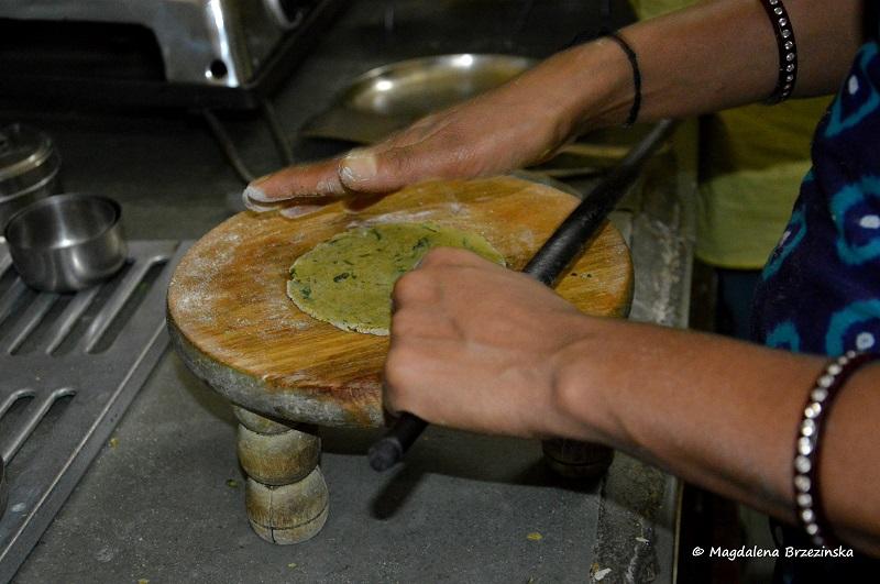 wałek w Indiach wygląda tak © Magdalena Brzezińska