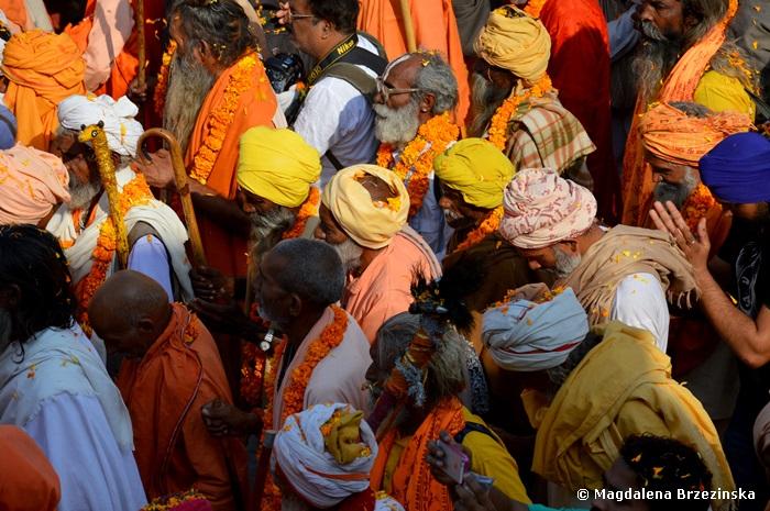 Procesja świętych mężów. Puszkar, Indie 2014 © Magdalena Brzezińska