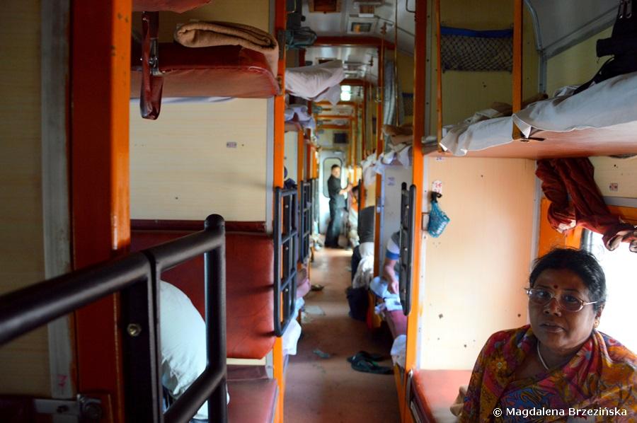 Brahmaputra Express, Old Delhi - Mughal Sarai, Indie 2015 © Magdalena Brzezińska