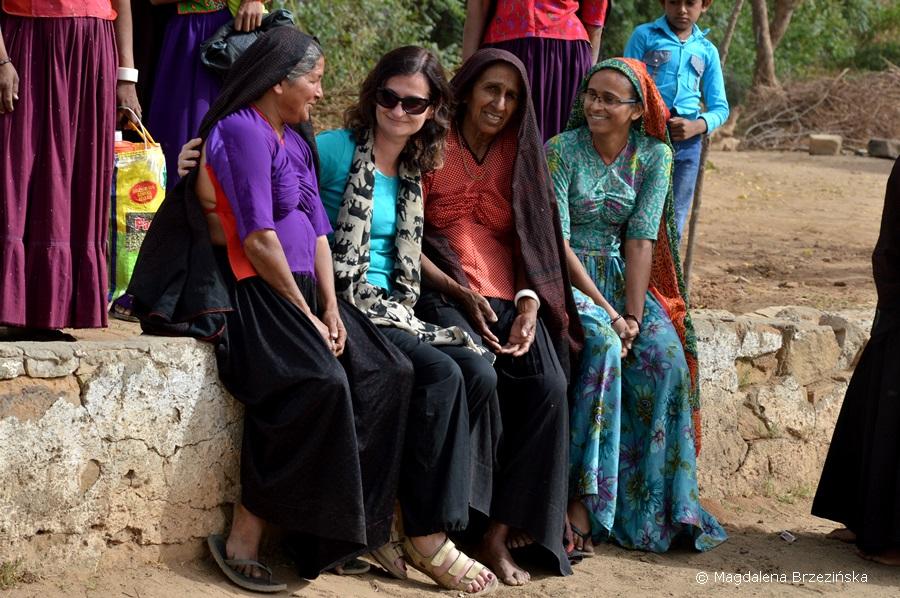 Międzynarodowy Dzień Kobiet w Kutch, Indie © Magdalena Brzezińska