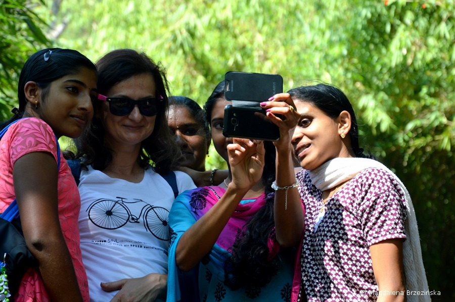 Selfie z Polką :D Indie 2016 © Magdalena Brzezińska