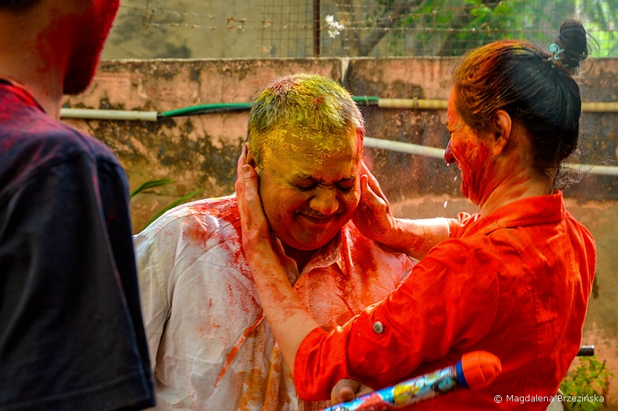 A masz Radziu! Holi, 6 marca 2015 r., Ahmedabad, Indie © Magdalena Brzezińska