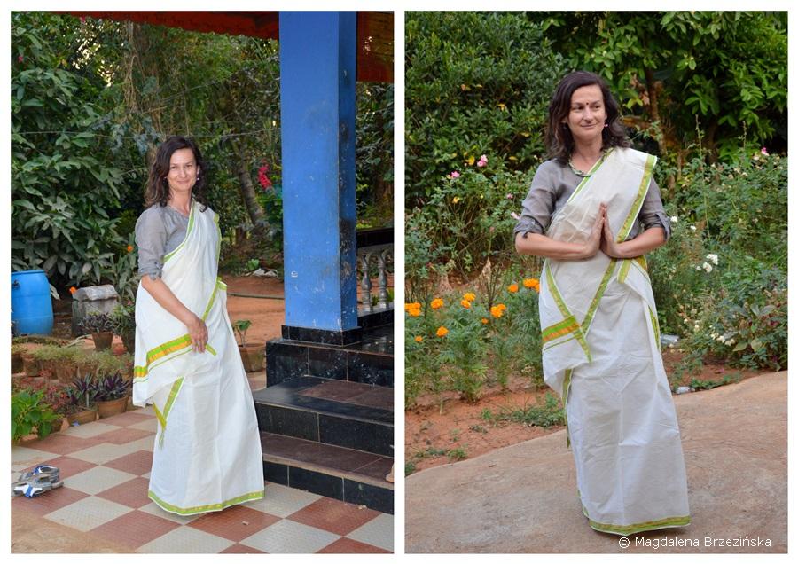 Mundum neriyathum. Kerala, Indie 2016 © Magdalena Brzezińska