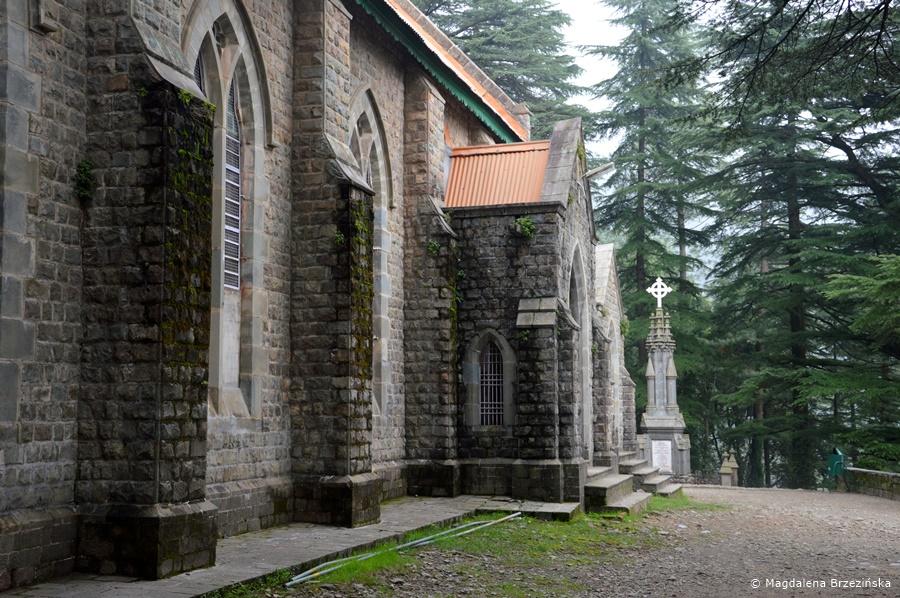 Kościół Św. Jana, McLeod Ganj, Indie, lipiec 2016 © Magdalena Brzezińska