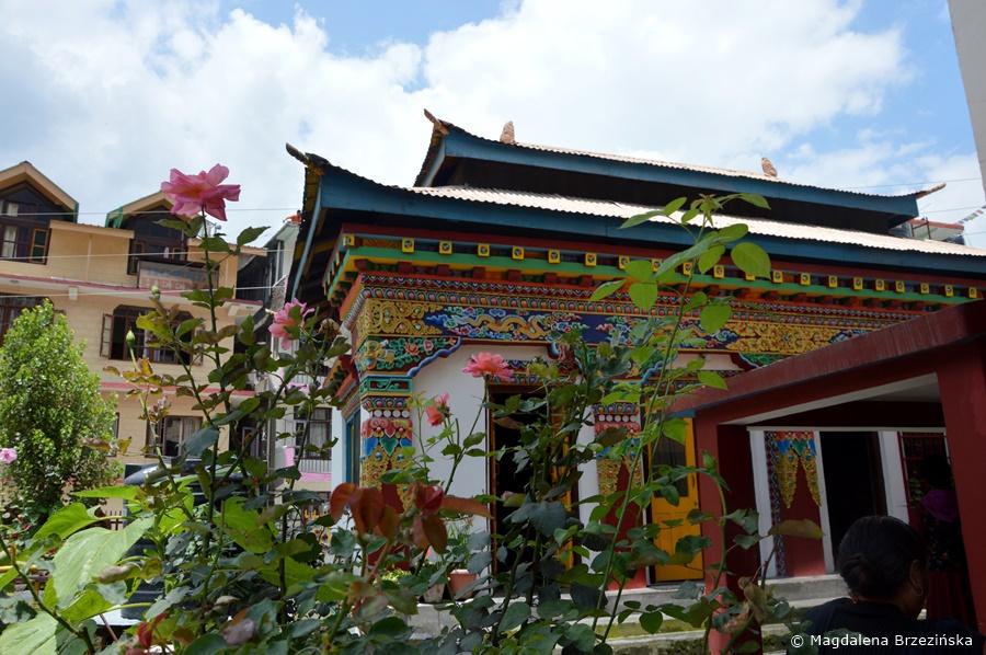 Buddyjska Manali Gompa. Manali, Indie, lipiec 2016 r. © Magdalena Brzezińska