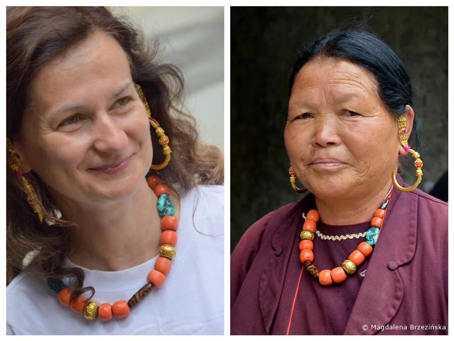 Biżuteria na co dzień Keylong, Indie, lipiec 2016 © Magdalena Brzezińska