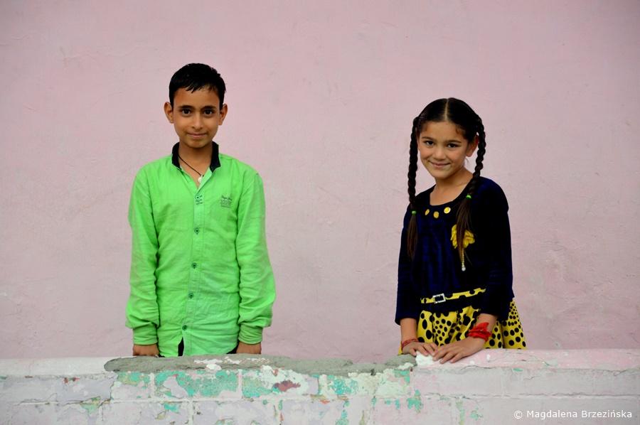 Dzieci z Keylong, Indie, lipiec 2016 © Magdalena Brzezińska