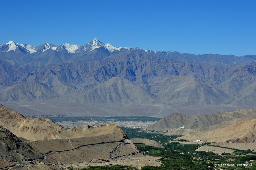 fot. Widok na Leh © Magdalena Brzezińska, Ladakh, Indie 2016
