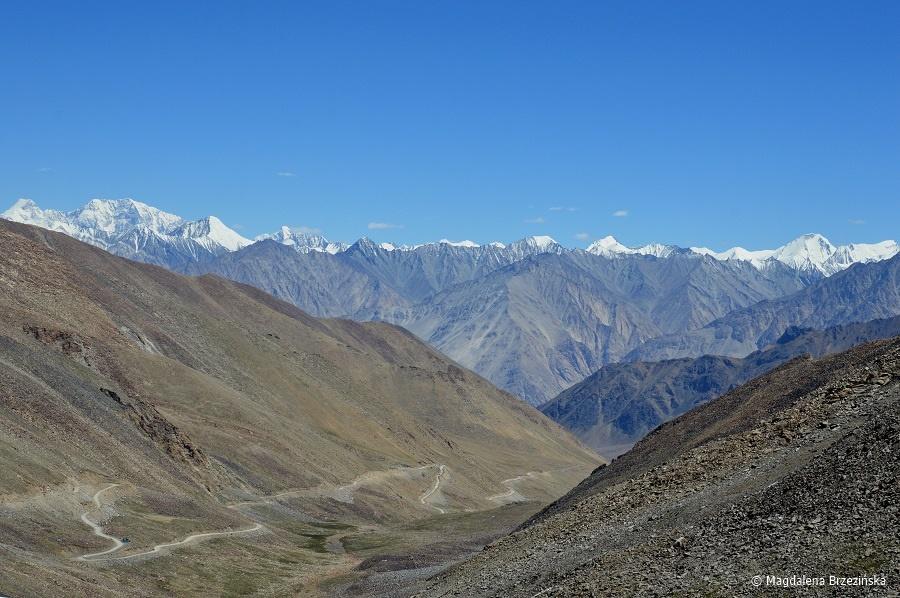 fot. Droga powrotna do Leh © Magdalena Brzezińska, Ladakh, Indie 2016