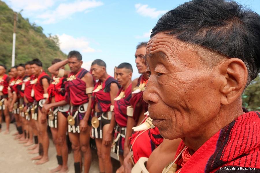 fot. Plemię Yimchunger © Magdalena Brzezińska, Hornbill Festival, Nagaland, Indie, 2019