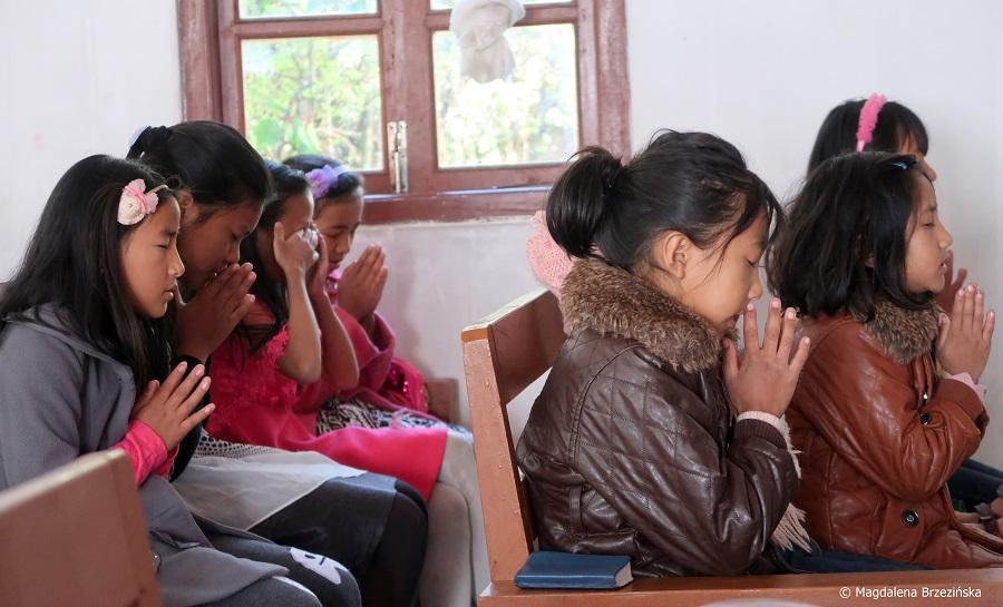 fot. 90% obywateli stanu Nagaland to chrześcijanie © Magdalena Brzezińska, Kigwema, Nagaland, Indie, 2019