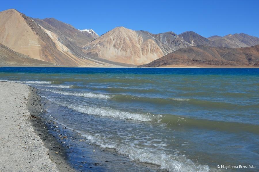 fot. Jezioro Pangong © Magdalena Brzezińska, Ladakh, Indie 2016