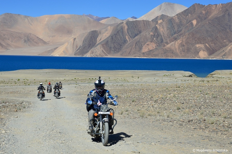 fot. Ladakh to raj dla motocyklistów © Magdalena Brzezińska, Ladakh, Indie 2016