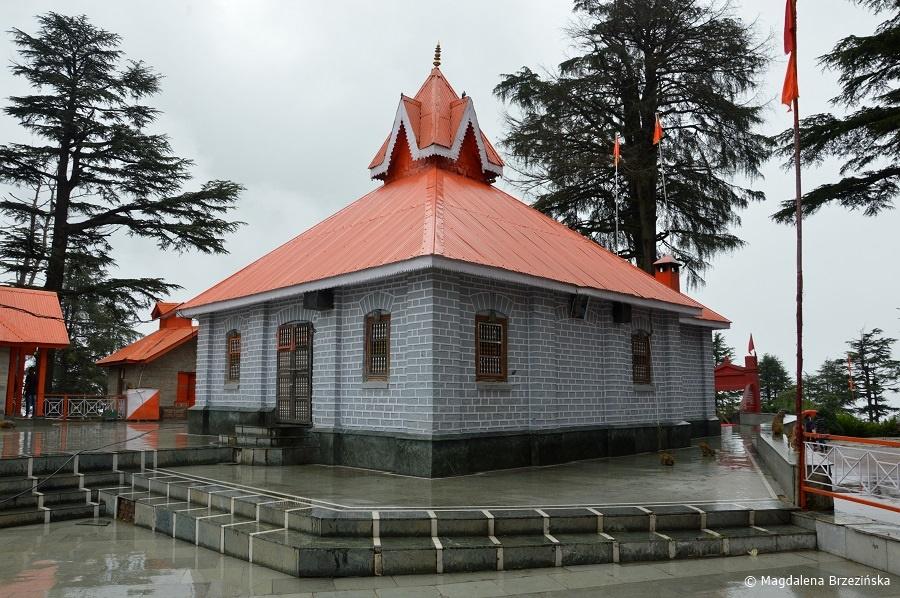 fot. Świątynia Jakhoo © Magdalena Brzezińska, Indie 2016