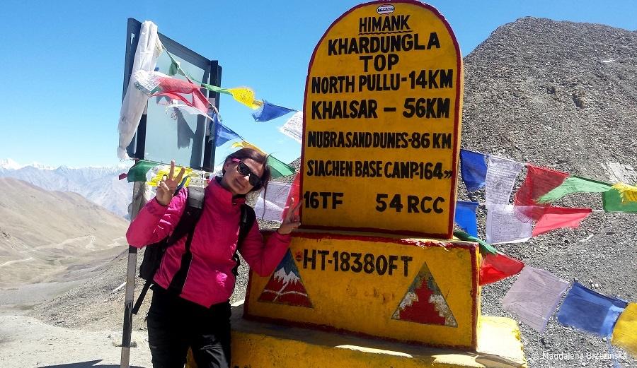 fot. Khardung La © Magdalena Brzezińska, Ladakh, Indie 2016