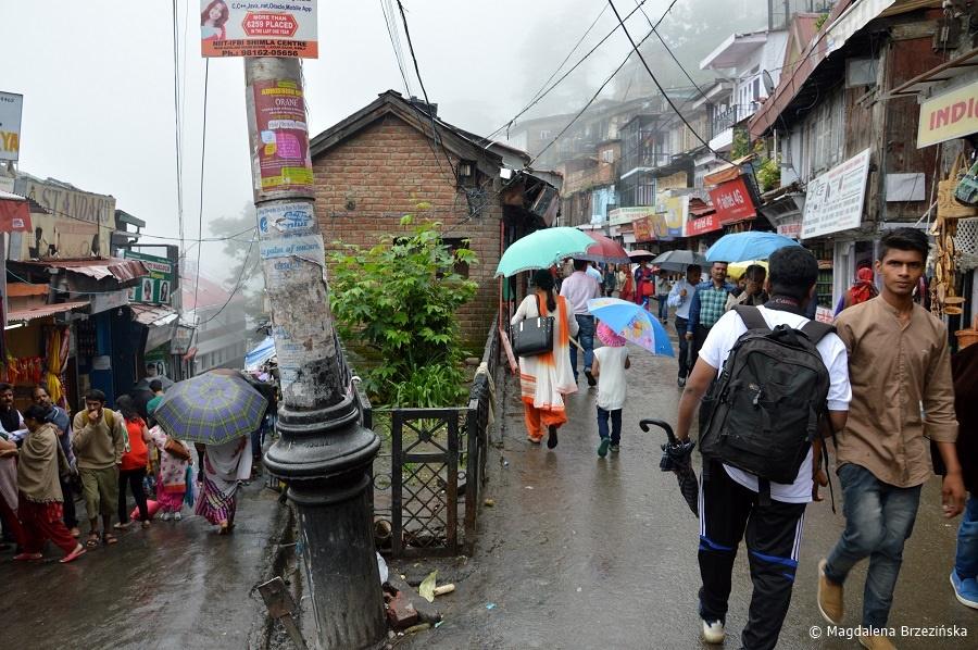 fot. Lakkar Bazar, Shimla © Magdalena Brzezińska, Indie 2016