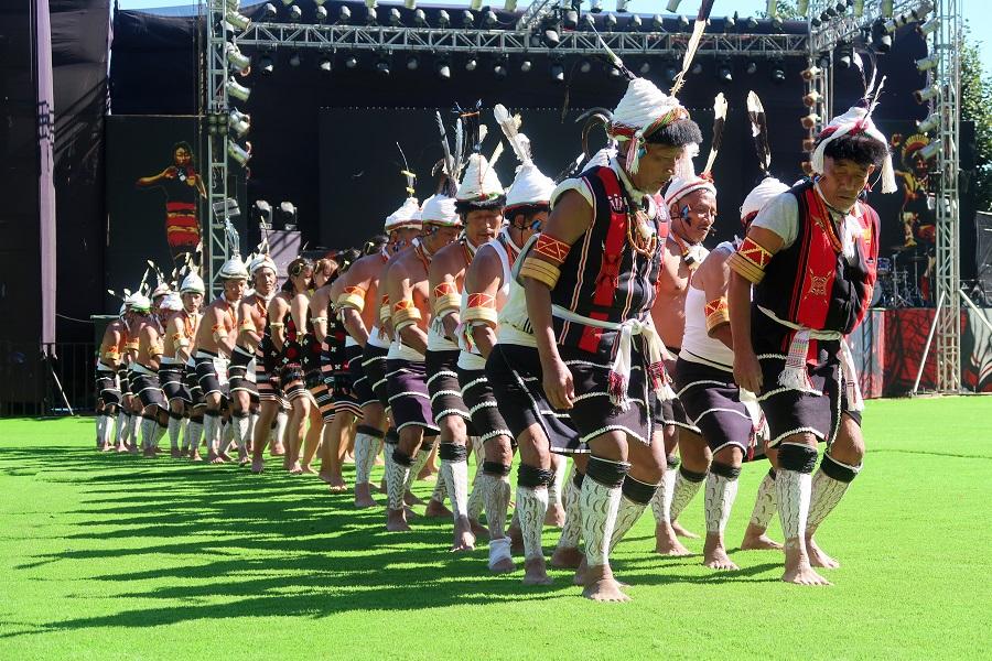 fot. Plemię Zeliang – Herielim (Taniec Dzioborożca) © Magdalena Brzezińska, Hornbill Festival, Nagaland, Indie, 2019